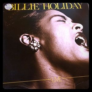 Billie Holiday Live LP Record